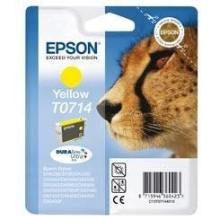 Epson DURABrite Ultra Ink Tintenpatrone T0714 - Gelb Geld sparen mit separaten Einzelpatronen<br />Dank der Einzelpatronen von brauchen Sie nur die