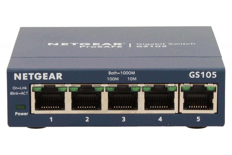 Netgear Switch Unmanaged Plus 5xGE - GS105GE