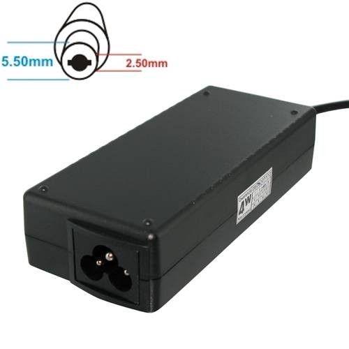 Whitenergy Zasilacz 19V | 4.9A 90W wtyk 5.5*2.5mm Compaq 04081
