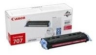 Canon Toner 707 magenta 2000pages for LBP5000 5100