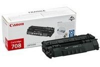 Canon CRG-708 cartridge black for LBP3300 3360 2.500pages