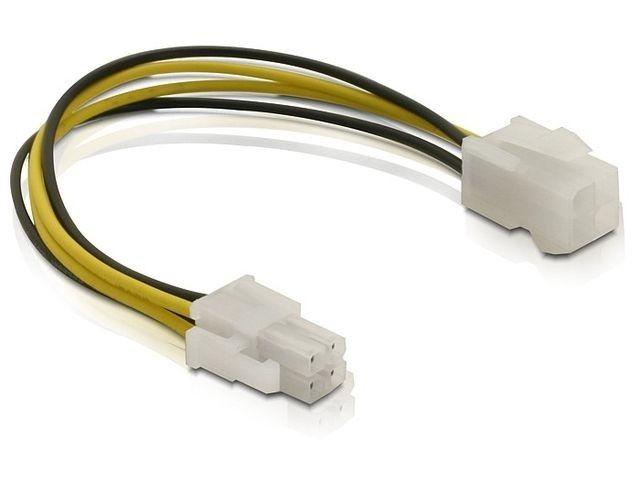DeLOCK Kabel P4 zasilający CPU M/F 4PIN wewnętrzny 0,15m