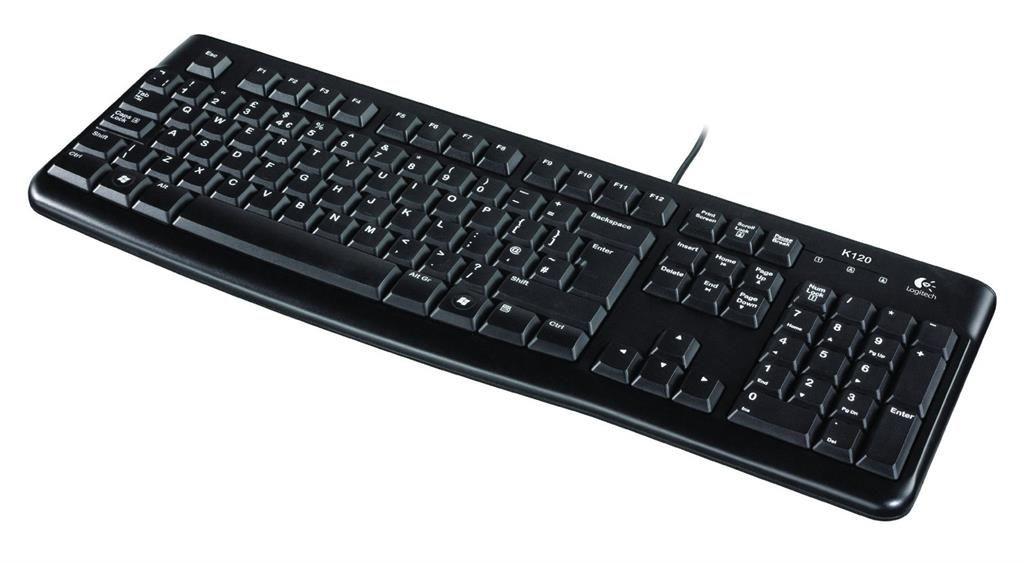 Logitech 920-002526 Keyboard K120 OEM for Business, Lithuanian layout