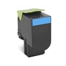 Lexmark Toner 702XCE Corporate-Kassette Cyan / 8000