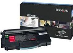 Lexmark 12036SE Toner black 2000 str. E120