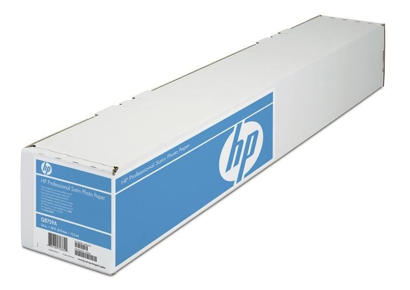 HP Papier professional Photo Paper Satin, 610mmx15 m, 300 g/m2