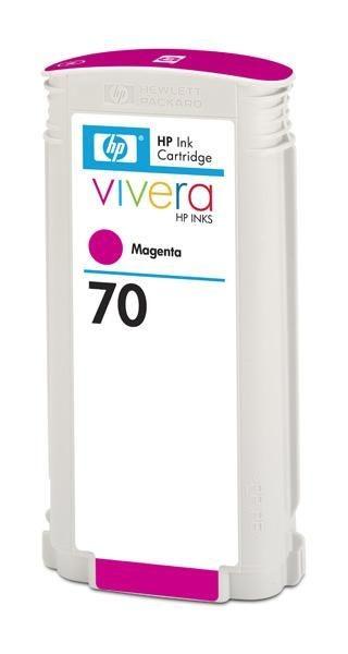 HP Atrament No 70 Ink Cart/130 ml Magenta w/viver
