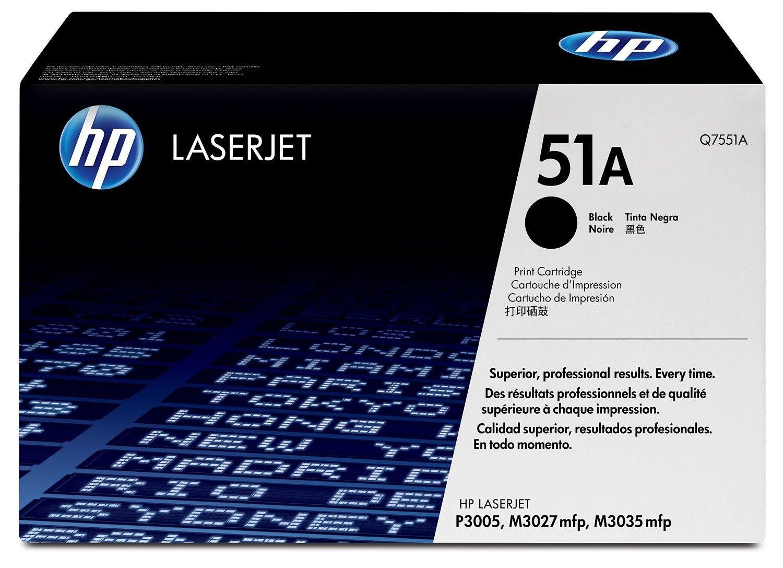HP Q7551A Toner black 6500str LJP3005/M3035MFP/M3027MFP