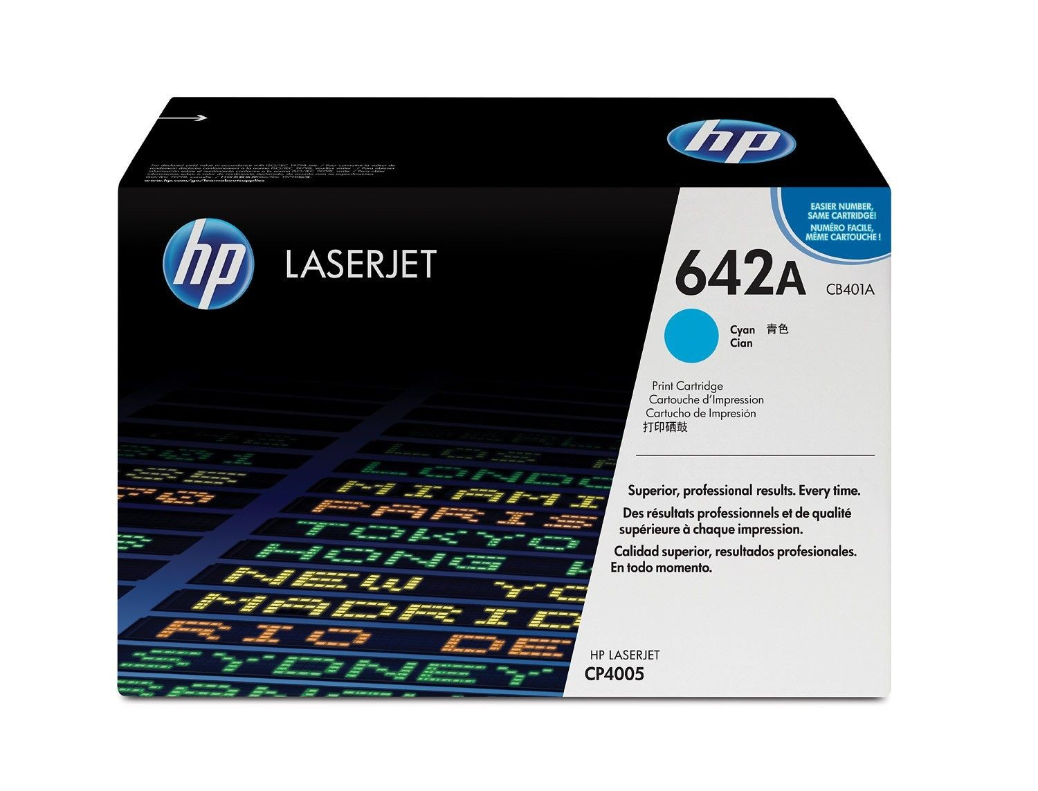 HP Toner/CP4005 cyan 7.5k