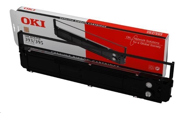 OKI Microline 393, 395 ink ribbon black 2.000.000 characters 1-pack