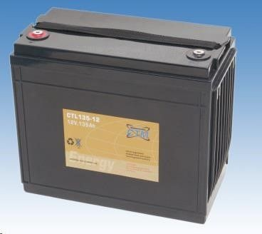 CyberPower Baterie - CTM CTL 135-12 (12V/135Ah - M6), životnost 10-12let