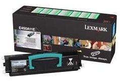 Lexmark E450A11E Toner black zwrotny 6000 str. E450