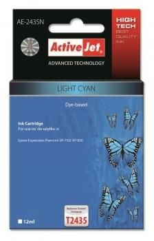 ActiveJet Tusz ActiveJet AE-2435N | Light cyan | 12 ml | Epson T2435