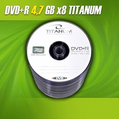 Titanum DVD+R 8x 4,7GB (Spindle 100)