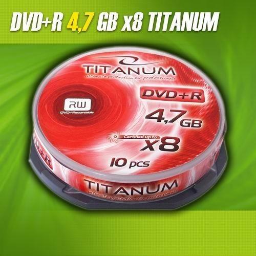 Titanum DVD+R 8x 4,7GB (Cake 10)