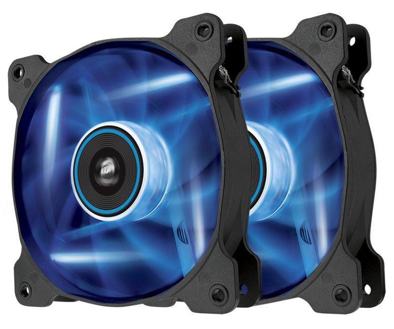Corsair Wentylator AF120-LED, Blue, Dual Pack