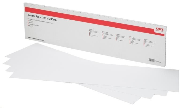 OKI A3 Banner Paper 328 x 1200mm 160g box of 40 sheets