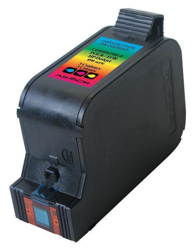Armor cartridge do HP DJ 710C/810C/890C Color (C1823D)