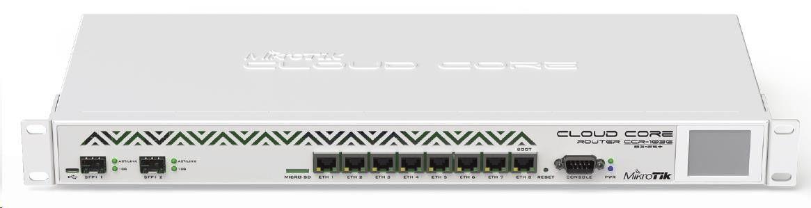 MikroTik Router MikroTik CCR1036-8G-2S+EM L6, 36xCore 1.2 GHz ,16GB RAM, 8xGig LAN, 2xSFP+ 10Gbe