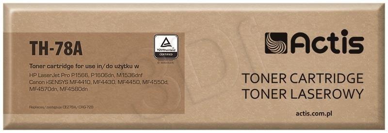 Actis Toner TH-78A (zamiennik Canon HP 78A CRG-728 CE278A; Standard; 2 000 stron; czarny)