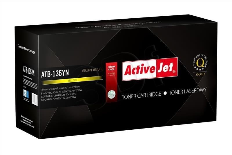 ActiveJet Toner ActiveJet ATB-135YN | Yellow | Brother TN-135Y
