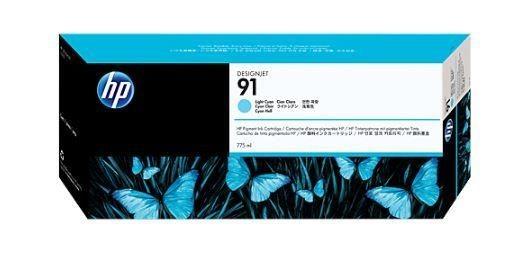 HP Atrament 91 Light Cyan Ink Cart/Vivera Ink
