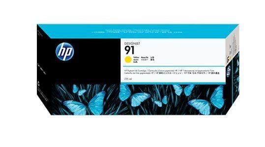 HP Atrament 91 Yellow Ink Cart/Vivera Ink
