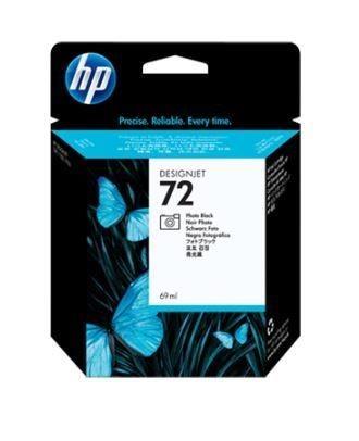 HP Wkład atramentowy No. 72 Photo Black Ink Cartridge dla DJ T1100, 69ml, C9397A