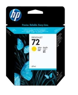 HP INK CARTRIDGE YELLOW NO.72/69ML C9400A