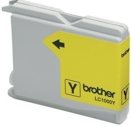 Brother LC1000Y Tusz LC1000Y yellow 400str DCP330C / DCP540CN / MFC5460CN
