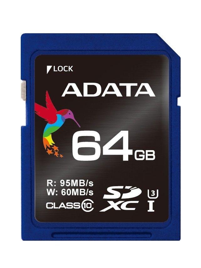 A-Data SD XC Premier Pro 64GB UHS-1 U3/Class10 4K
