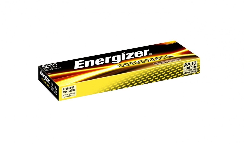 Energizer Bateria Industrial alkaliczna AA LR6 10 szt. Bulk