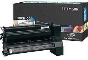 Lexmark Toner/cyan 6000sh f C780 C782