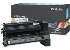Lexmark Toner/black 6000sh f C780 C782