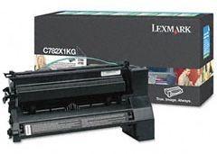 Lexmark C782X1KG Toner black zwrotny 15000 str. C782