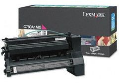 Lexmark Toner/magenta 6000sh f C780 C782