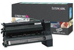 Lexmark C782X1MG Toner magenta zwrotny 15000 str. C782