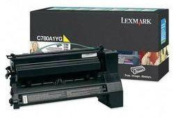 Lexmark Toner/yellow 6000sh f C780 C782