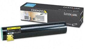 Lexmark C930H2YG Toner yellow 24000 str. C935dn / C935dtn / C935dttn / C935hdn