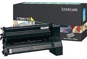 Lexmark Toner/yellow 10000sh f C780 C782
