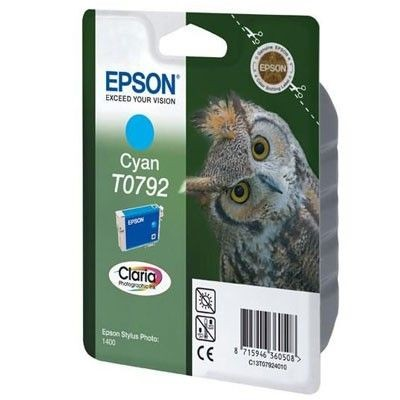 Epson C13T07924010 Tusz T0792 cyan Stylus photo 1400