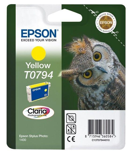 Epson C13T07944010 Tusz T0794 yellow Stylus photo 1400