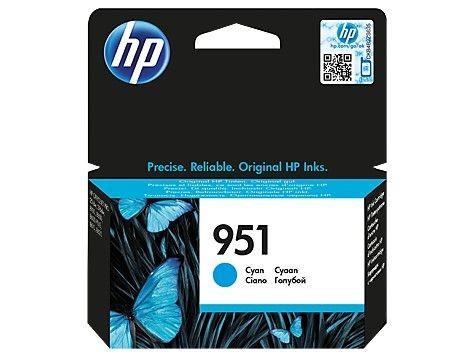 HP Tusz CN050AE (oryginał951 951; niebieski)