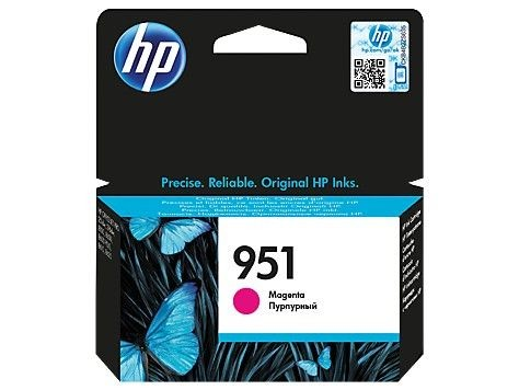 HP 951 Magenta Original Ink Cart, CN051AE