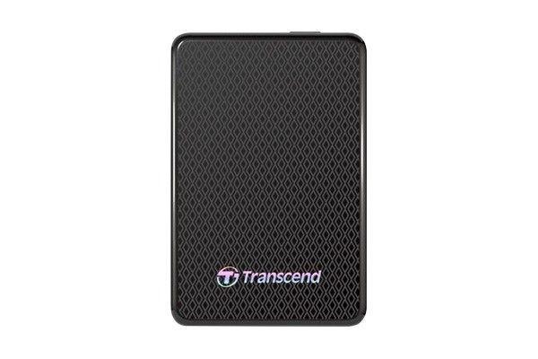Transcend zewnętrzny dysk SSD ESD400K 256GB USB 3.0, 2.5'', OneTouch Backup