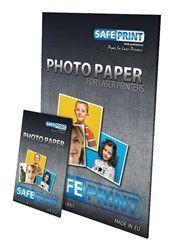 SAFEPRINT Fotopapír pro laser tiskárny Glossy, 135 g, A4, 10 sheets