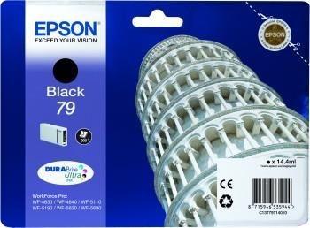 Epson C13T79114010 Tusz T7911 black 14 ml WF-5110DW/WF-5190DW/WF-5620DWF/WF-5690DWF