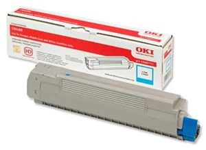 OKI Toner C8600 Cyan 6k