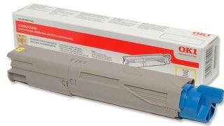 OKI 43459433 Toner yellow 1500str C3300/3400/3450/3600