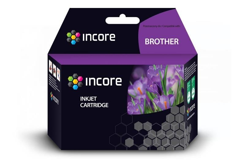 Incore Tusz do Brother (LC1100Y) Yellow 8ml reg.